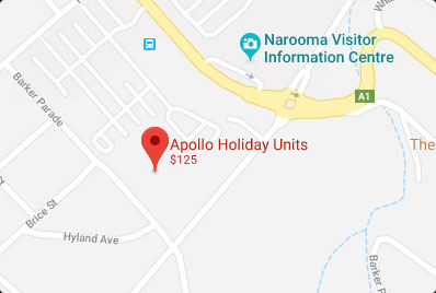 Apollo Holiday Units Narooma Accommodation Map